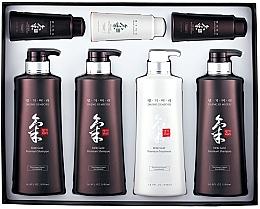 Voňavky, Parfémy, kozmetika Sada - Daeng Gi Meo Ri Ki Gold Hair Care Set (shm/500ml + shm/500ml + shm/500ml + cond/500ml + shm/70ml + shm/70ml + cond/70ml)