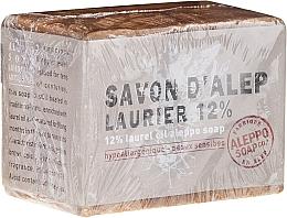 Voňavky, Parfémy, kozmetika Mydlo Aleppo s vavrínovým olejom 12% - Tade Aleppo Laurel 12% Soap 12%