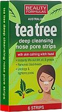 Voňavky, Parfémy, kozmetika Čistiace prúžky na nos - Beauty Formulas Tea Tree Deep Cleansing Nose Pore Strips