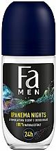 """Voňavky, Parfémy, kozmetika Dezodorant roll-on pre mužov """"Rytmy Brazílii"""" - Fa Men Ipanema Nights Deo Roll On"""