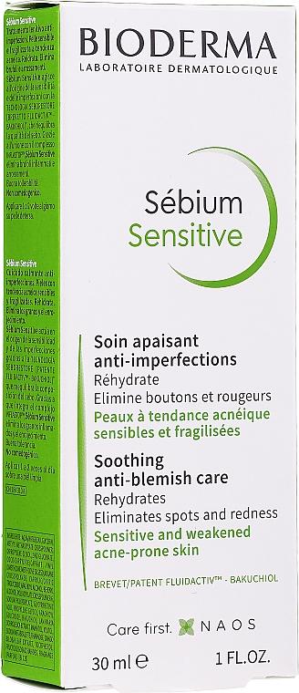 Upokojujúci krém na tvár a oči - Bioderma Sebium Sensitive Cream