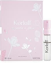 Voňavky, Parfémy, kozmetika Korloff Paris Un Jardin A Paris - Parfumovaná voda (vzorka)