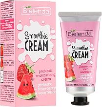 """Hydratačný krém na tvár """"Melón a jahoda"""" - Bielenda Smoothie Cream — Obrázky N1"""