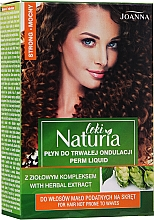 """Voňavky, Parfémy, kozmetika Tekutina pre trvalú onduláciu vlasov """"Silná"""" - Joanna Naturia Loki Liquid"""