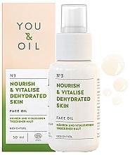 """Voňavky, Parfémy, kozmetika Olej na tvár """"Výživa a obnova"""" - You & Oil Nourish & Vitalise Dehydrated Skin Face Oil"""