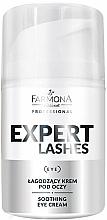 Voňavky, Parfémy, kozmetika Upokojujúci očný krém - Farmona Professional Expert Lashes Soothing Eye Cream