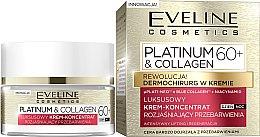 Krém na tvár 60+ - Eveline Cosmetics Platinum & Collagen — Obrázky N1