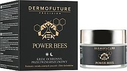 Voňavky, Parfémy, kozmetika Ochranný krém na tvár proti vráskam - Dermofuture Power Bees Protective Anti-wrinkle Cream