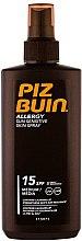 Voňavky, Parfémy, kozmetika Opaľovací sprej-gél - Piz Buin Allergy Spray Spf15