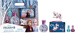 Voňavky, Parfémy, kozmetika Disney Frozen II - Sada (edt/50ml + nail/polish/2x5ml + bag)