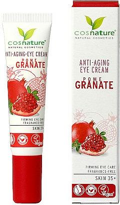 "Očný krém ""Granátové jablko"" - Cosnature Eye Cream Pomegranate"