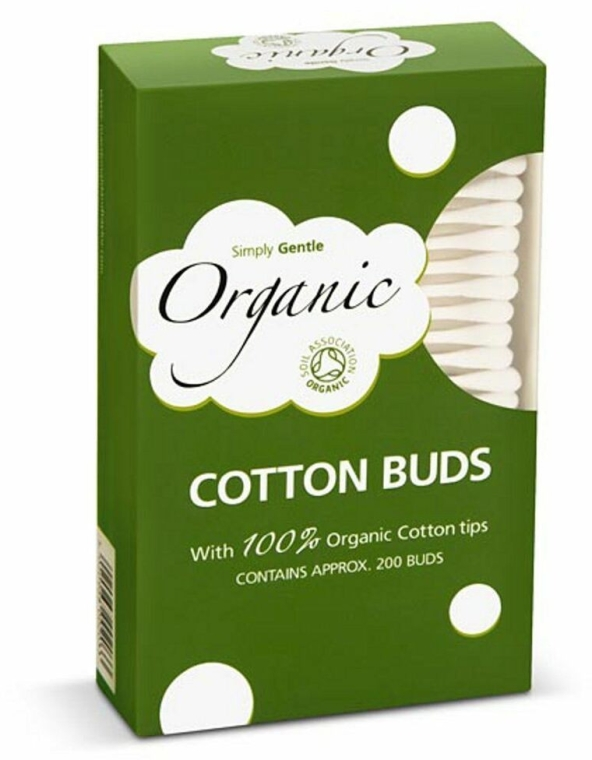 Vatové tyčinky - Simply Gentle Organic Cotton Buds