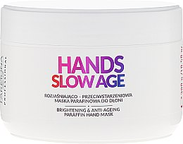 Voňavky, Parfémy, kozmetika Maska na ruky, parafín - Farmona Hands Slow Age Brightening And Anti-ageing Paraffin Hand Mask