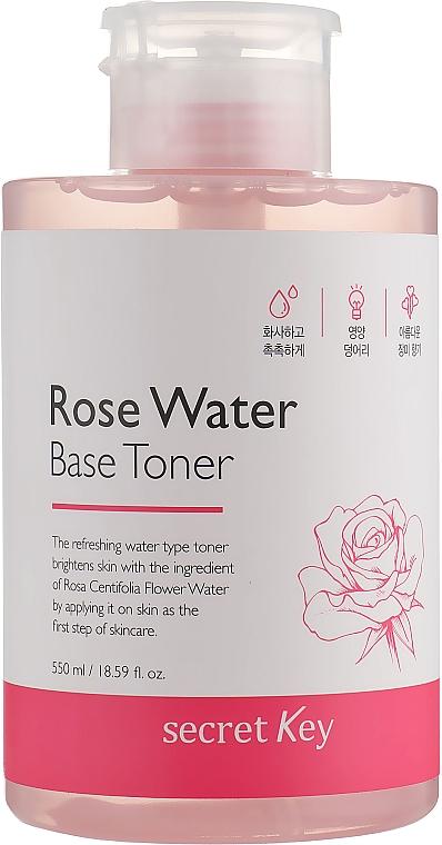 Toner na báze ružovej vody - Secret Key Rose Water Base Toner