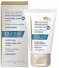 Voňavky, Parfémy, kozmetika Prípravok na pokožku rúk proti pigmentácii - Ducray Melascreen Global Hand Care SPF 50+