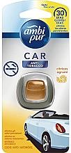 """Voňavky, Parfémy, kozmetika Osviežovač vzduchu do auta """"Anti-tabak"""" - Ambi Pur"""