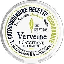 Voňavky, Parfémy, kozmetika Krémový dezodorant Verbena - L'Occitane Verbena Deodorant