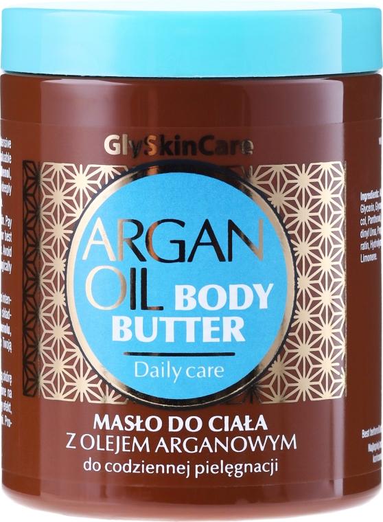 Telové maslo s arganovým olejom - GlySkinCare Argan Oil Body Butter