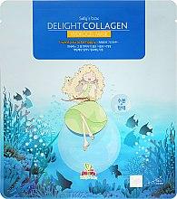 Voňavky, Parfémy, kozmetika Hydrogel tvárová maska s kolagénom - Sally's Box Delight Collagen Hydrogel Mask