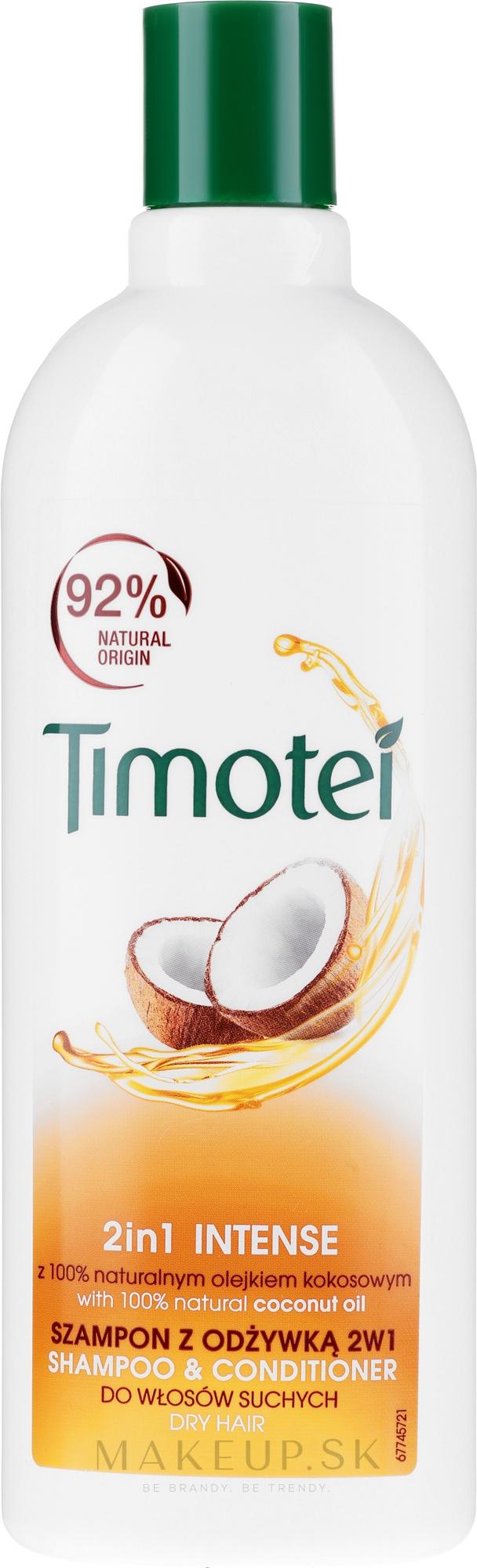 """Šampón-kondicionér """"Ruža Jerichona s kokosovým olejom"""" - Timotei Jericho Rose Shampoo & Conditioner — Obrázky 400 ml"""