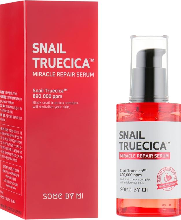 Regeneračné sérum s mucínom čierneho slimáka - Some By Mi Snail Truecica Miracle Repair Serum
