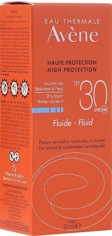Fluid s SPF ochranou - Avene Sun Care Fluid SPF 30