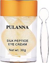 Voňavky, Parfémy, kozmetika Očný krém Hodvábne peptidy - Pulanna Silk Peptide Eye Cream