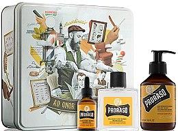 Voňavky, Parfémy, kozmetika Sada - Proraso Wood & Spice Beard Kit (balm/100ml + shmp/200ml + oil/30ml)