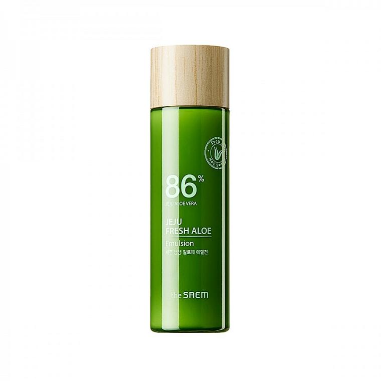Hydratačná emulzia na tvár s aloe vera - The Saem Jeju Fresh Aloe Emulsion
