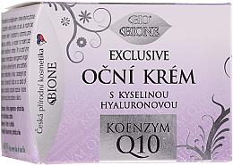 Voňavky, Parfémy, kozmetika Krém na viečka - Bione Cosmetics Exclusive Organic Eye Cream With Q10