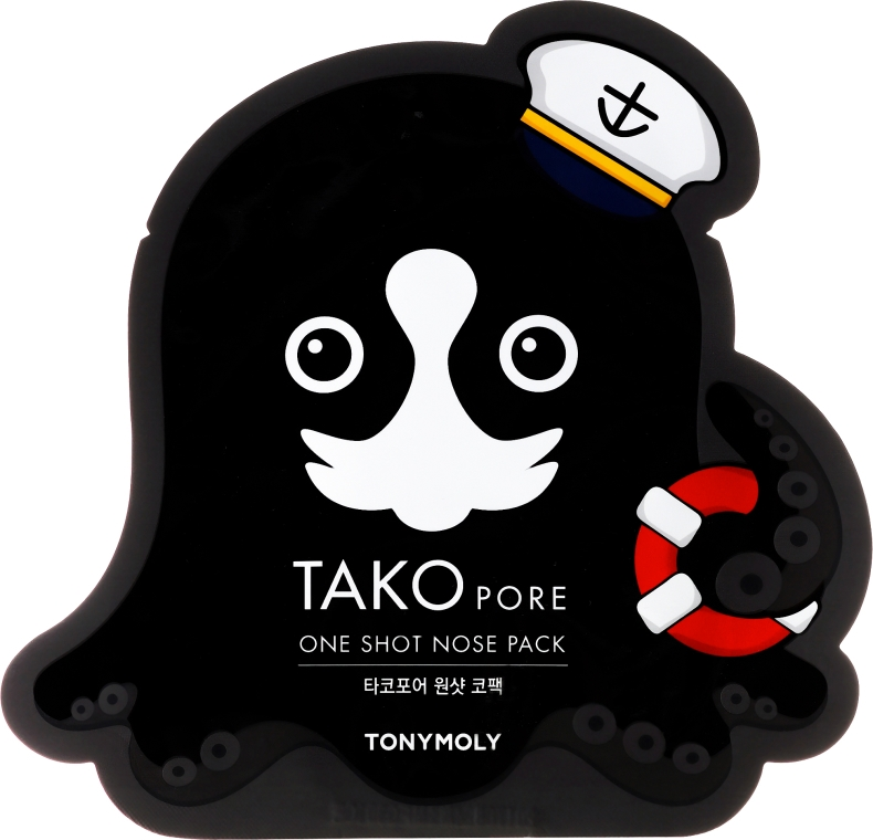 Maska-náplasť proti čiernych bodiek - Tony Moly Tako Pore One Shot Nose