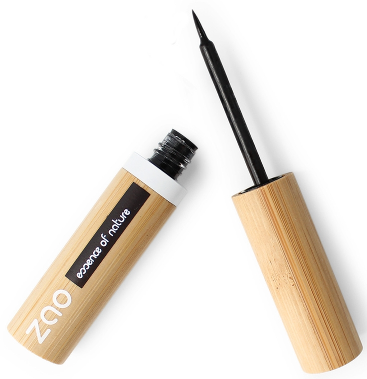 Očná linka - Zao Felt Tip Eyeliner (náhradný blok)  — Obrázky N2