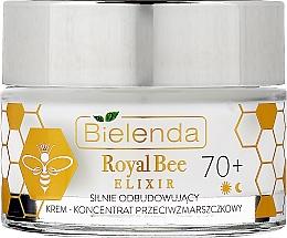 Voňavky, Parfémy, kozmetika Regeneračný krémový koncentrát proti vráskam - Bielenda Royal Bee Elixir 70+ Cream Concentrate