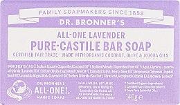 "Voňavky, Parfémy, kozmetika Mydlo ""Levanduľa"" - Dr. Bronner's Pure Castile Bar Soap Lavender"