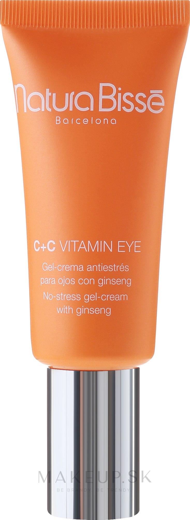 Regeneračný očný kontúrový gél - Natura Bisse C+C Vitamin Eye — Obrázky 15 ml