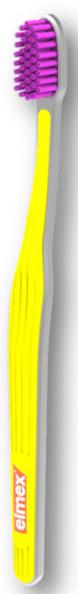 Zubná kefka, ultra mäkká, žltá - Elmex Swiss Made Ultra Soft Toothbrush  — Obrázky N1