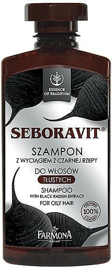 "Šampón na mastné vlasy ""Seboravit"" - Farmona Seboravit Shampoo"
