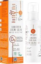 Voňavky, Parfémy, kozmetika Vodeodolný krém na opaľovanie SPF30 - Anthyllis Sunscreen Creama Solar Water Resistant