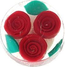 """Prírodné glycerínové mydlo """"Červená ruža"""" - Bulgarska Rosa Rosa Fantasy Soap — Obrázky N1"""