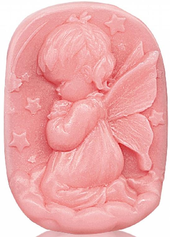 """Glycerínové mydlo """" Detský dotyk """" - Bulgarian Rose Glycerin Fragrant Soap Pink Angel"""