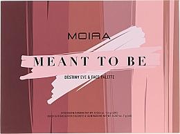 Voňavky, Parfémy, kozmetika Paleta na makeup - Moira Meant To Be Eye & Face Palette