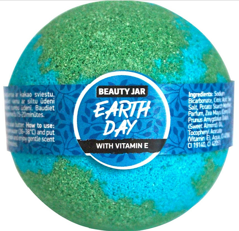 Šumivá bomba do kúpeľa - Beauty Jar Earth Day