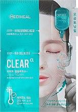 Voňavky, Parfémy, kozmetika Biocelulózová maska s kyselinou hyalurónovou - Mediheal Capsule 100 Bio Seconderm Clear Alpha 2 Step Face Mask