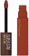 Voňavky, Parfémy, kozmetika Tekutý matný rúž - Maybelline New York Super Stay Matte Ink Coffee Edition Liquid Lipstick