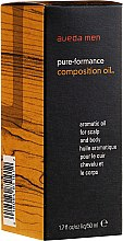 Voňavky, Parfémy, kozmetika Aromatický olej na vlasy a telo - Aveda Men Pure-Formance Composition Oil