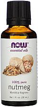 Voňavky, Parfémy, kozmetika Esenciálny olej z muškátového orieška - Now Foods Essential Oils 100% Pure Nutmeg