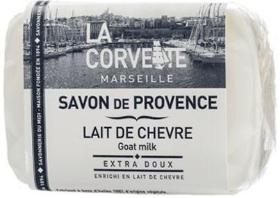"Provensálske mydlo ""Kozie mlieko"" - La Corvette Provence Soap Goat Milk"
