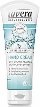 Voňavky, Parfémy, kozmetika Krém na ruky - Lavera Basis Sensitiv Hand Cream Almond&Shea Butter