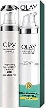 Voňavky, Parfémy, kozmetika Rozjasňujúci krém SPF-20 - Olay Regenerist Luminous Brightening & Protecting Cream SPF-20