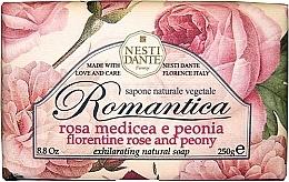 """Voňavky, Parfémy, kozmetika Mydlo """"Florentine Ruže a pivonky"""" - Nesti Dante Romantica Soap"""